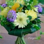 数種のお花をバランス良く組めました。