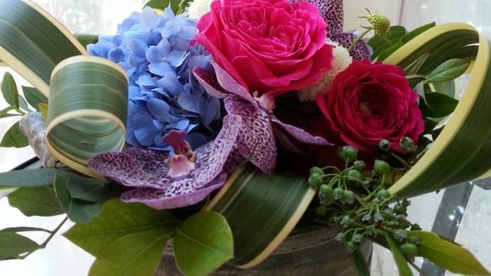庭から摘んできたような 花たち