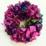 紫陽花のリース